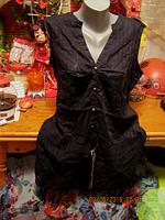 Туника блуза блузка хлопок черная XL 52 18 ИНДИЯ