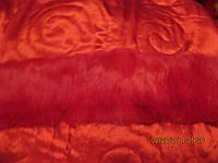 Воротник шарф кролик красный шарф мех натуральный новый