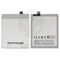 Батарея BT42 Meizu M1 Note, (Li-Polymer 3.8V 3100