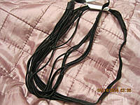 Повязка обруч заколка новая под кожу черная сложная