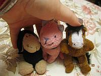 Брелок на ключи игрушка мягкая кот и овца набор из 2 шт редкие фирменные