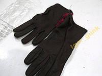 Перчатки женские коричневые, S, НОВЫЕ!