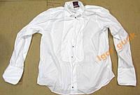 Рубашка M&S LUXURY, 44-45, COTTON, КАК НОВАЯ!