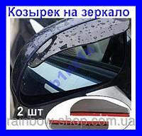 Козырьки на зеркало-защитит от снега,дождя,солнца