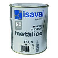 Серебристая антикоррозионная эмаль под ковку - Форха Изалнокс 0,75л=7м2
