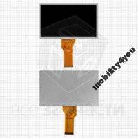 """Дисплей для планшета шлейф 80 мм, (165*100 мм), 50 pin, 7"""", (800*480), #20000600-32/AT070TN94/AT070TN92"""