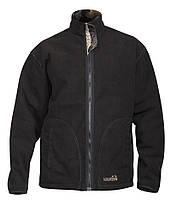 Куртка флисовая Norfin Hunting Thunder Staidness/Black (двухсторонняя), фото 1