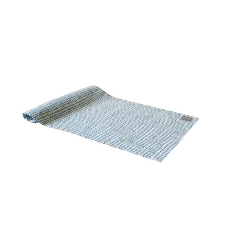 Дорожка на стол Блакитна клітинка 140х40см ТМ Прованс # Andre Tan