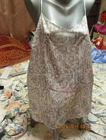Блузка блуза майка топ 20 56 XL светлая легкая новая next