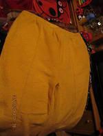 Брюки штаны теплые желтые для дома M 48 14