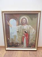 Вышивка крестом, Иисус стучит в дверь