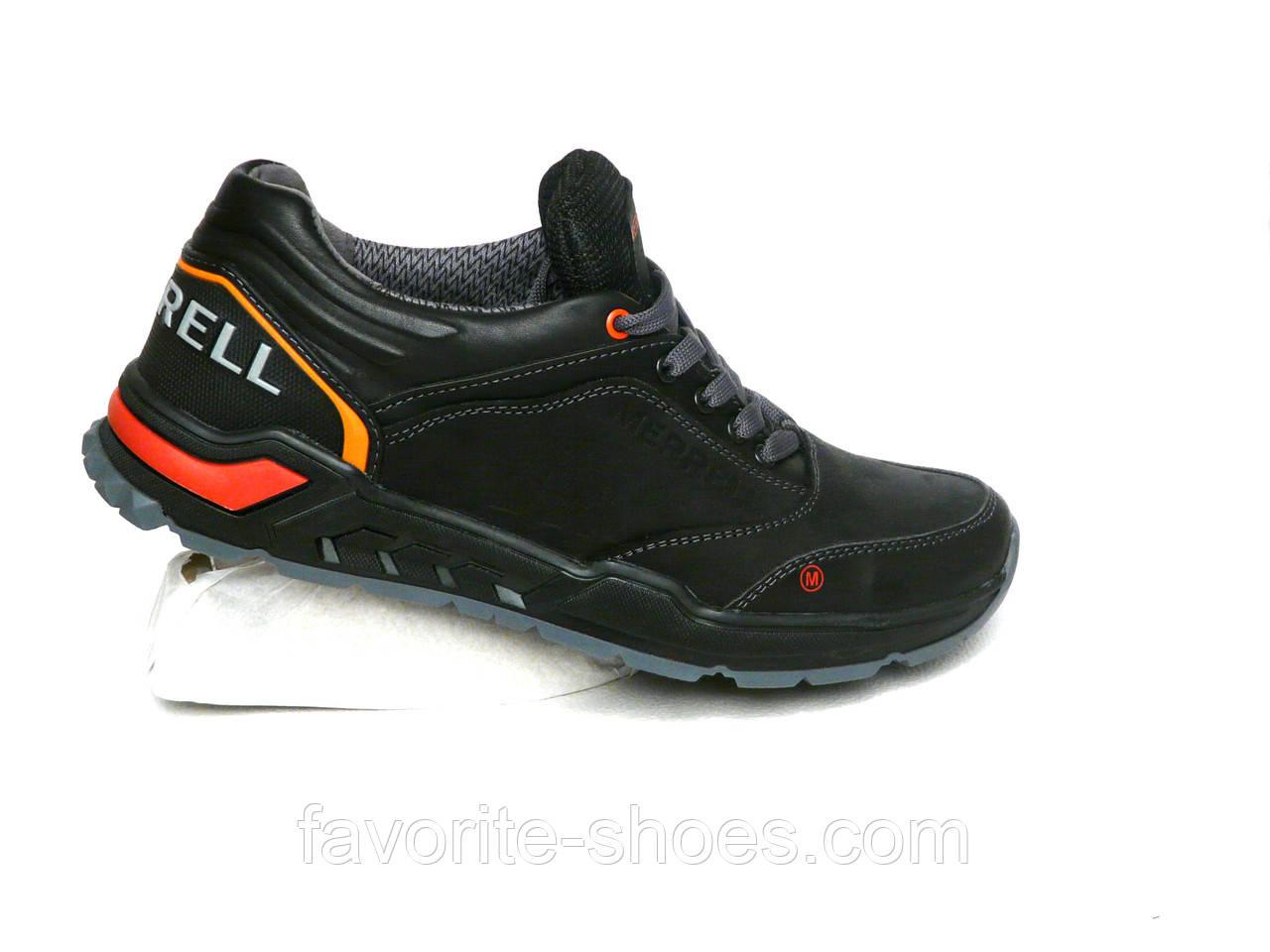 Кожаные мужские кроссовки MERRELL 40 размер - Интернет - магазин