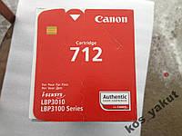 Картридж Canon 712 Black для LBP-3010/3020