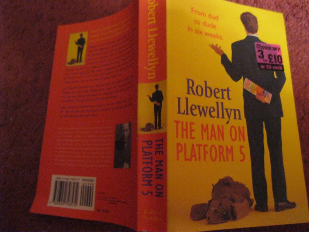 Книга на английском языке THE MAN ON PLATFORM 5