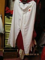 Брюки штаны женские летние шикарные пр-во  Marks Spencer белые 52 18 XL