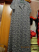 Платье халат 18 52 XL легкий приятный сток  MARK&SPENSER