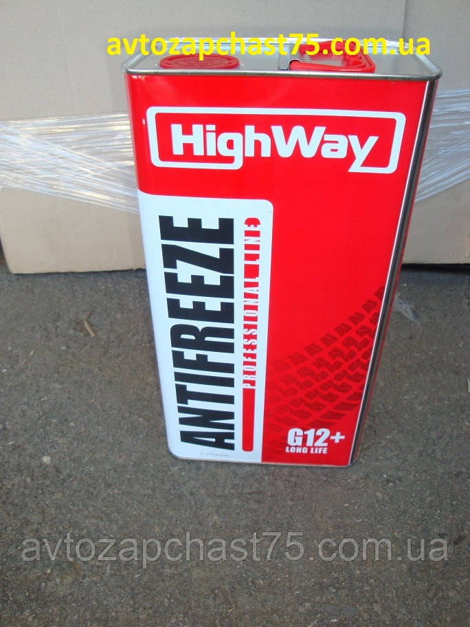 Антифриз HighWay ANTIFREEZE-40 LONG LIFE G12+ (красный) 5кг