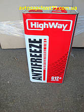 Антифриз HighWay ANTIFREEZE-40 LONG LIFE G12+ (красный) 5кг