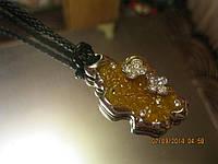 Колье шнурок бусы ожерелье+ кольцо набор