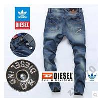 Мужские джинсы DIESEL ADIDAS размеры 28-30