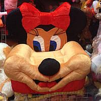 Детское мягкое кресло Микки-Маус девочка