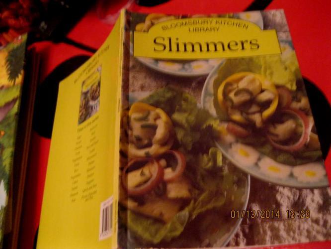 Книга на английском языке еда рецепты SLIMMERS