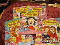 На английском языке книга журнал детский лот=5 шт
