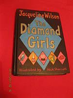 Книга на английском языке  DIAMOND GIRLS  англия