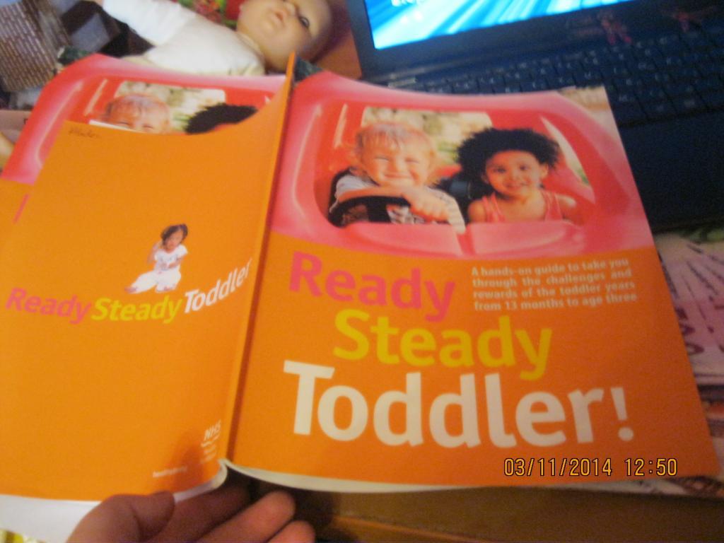 Книга READY Steady Toddler на английском языке британия