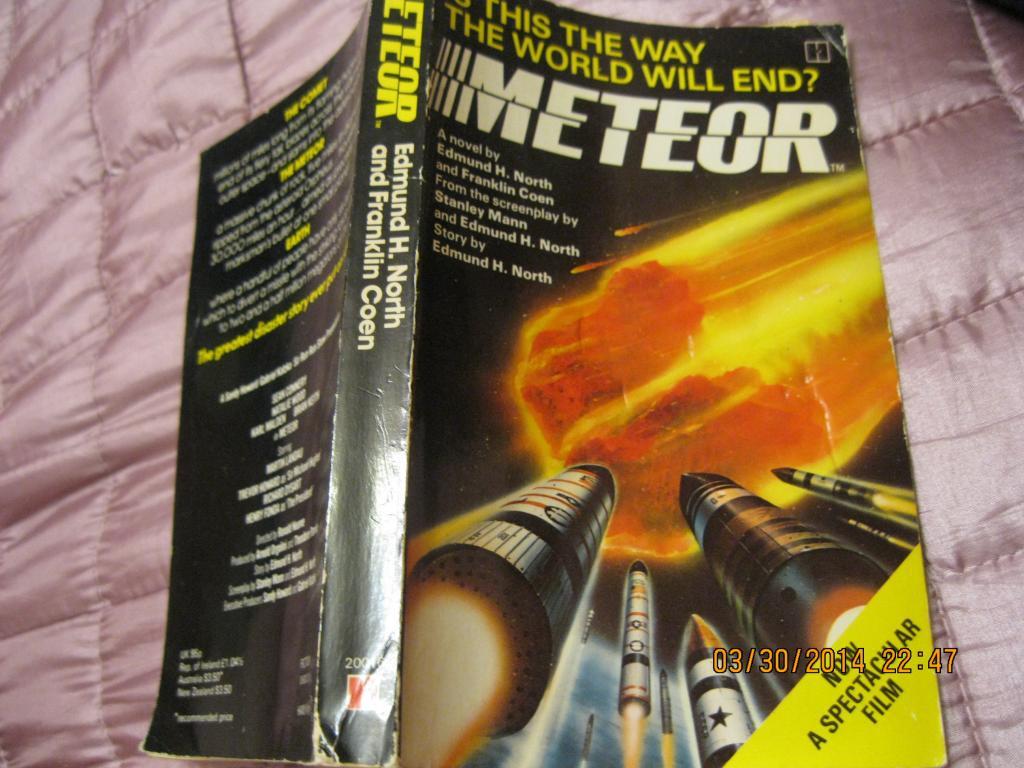 На английском языке книга английский METEOR