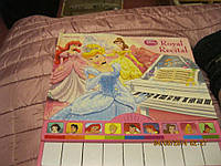 На английском языке книга детская ДИСНЕЙ песни картон МУЗЫКАЛЬНАЯ