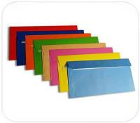 Цветные конверты Е65 СКЛ (1+0)