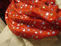 Бандана повязка обруч заколка новая красная широк, фото 1