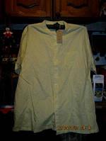 Рубашка шведка летняя мужская ЛЕН-ХЛОПОК 3XL 58-60 фирма cotton