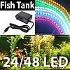Светодиодная лента для подсветки аквариума 24, 48, 120 см (без блока питания)