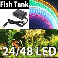 Светодиодная лента для подсветки аквариума 24LED, 48LED, 120LED (без блока питания)