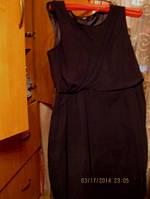 Платье черное 52 18 XL легкое