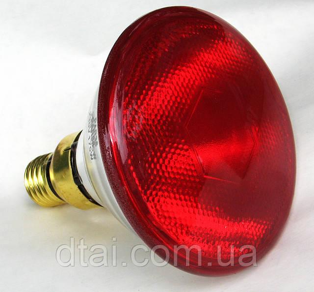 Инфракрасная лампа PAR38 для обогрева животных и птицы. 175 Ватт. Kerbl, Германия (произведенов КНР)