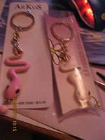 Брелок змея сувенир металл 2ШТ=ЛОТ