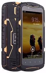 "Защищенный смартфон NO.1 X-Men X1 black-orange IP68 Quad-Core 5"" 1/8Gb 13Mp"