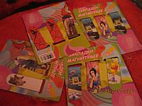 Магнит закладка в книгу набор=3шт новые разные спайдермен, фото 1