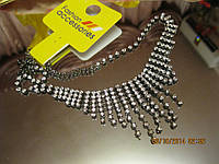 Бусы ожерелье КОЛЬЕ нарядное камни стильное ШИК, фото 1