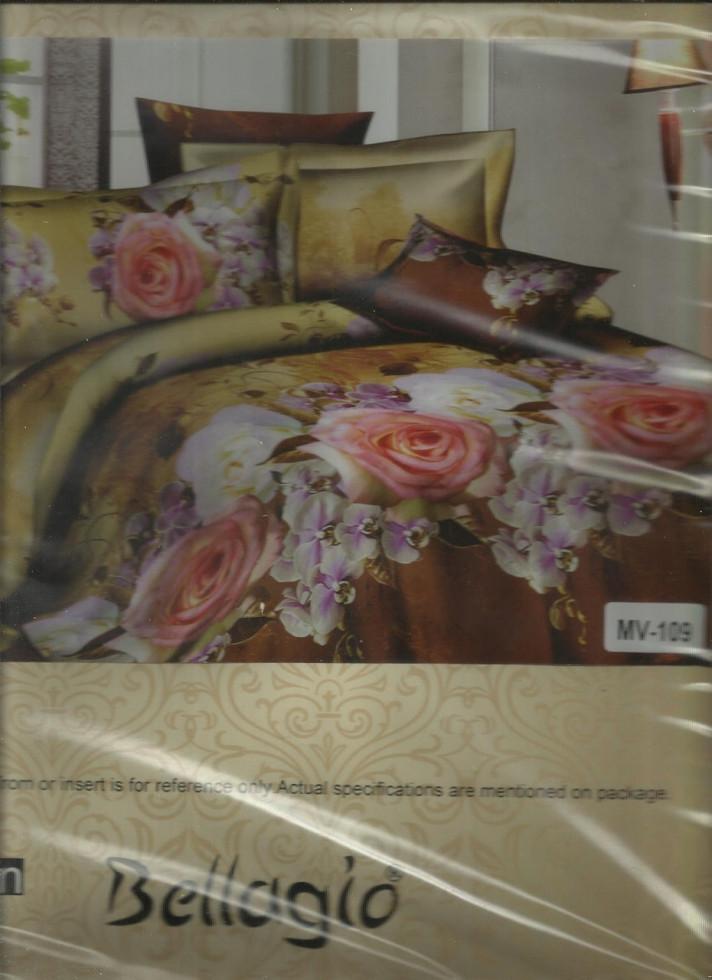 Турецкое постельное белье Розы полуторное