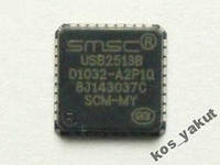 USB Controller, SMSC USB2513B, QFN36