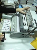 Сборка на металлическую пружину полиграфической продукции, фото 1