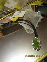 Бусы колье новое ожерелье зеленая подвеска супер