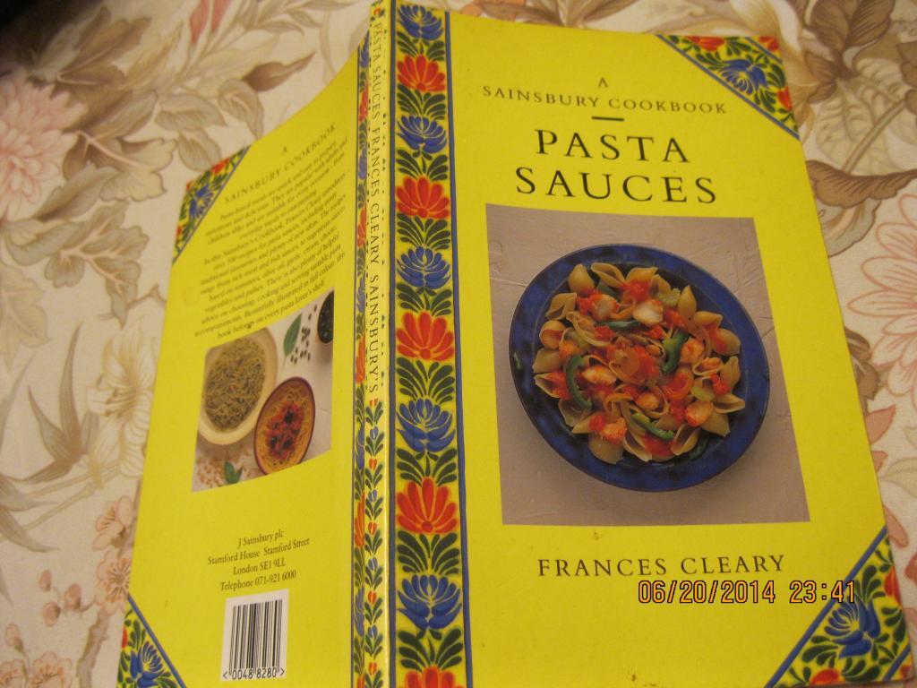 На английском языке книга соусы кулинария английский язык