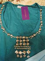 Туника женская футболка кофта 48 14 м новая фирменная