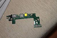 Asus Eee PC 101H плата с разъемами