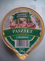 PASZTET Familijne przysmaki куриный паштет 130 г